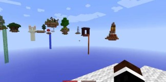 Over the Rainbow Map for Minecraft
