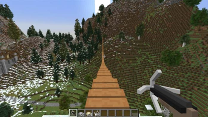 Rope Bridge Mod for Minecraft