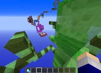 Twisty Snake Parkour Map for Minecraft