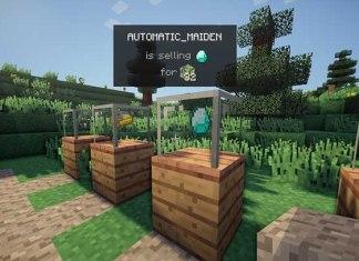 Vending Block Mod for Minecraft 1.8