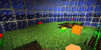 Water Dome Survival Map for Minecraft