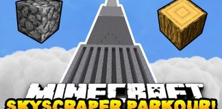 Skyscraper Parkour Map for Minecrarft
