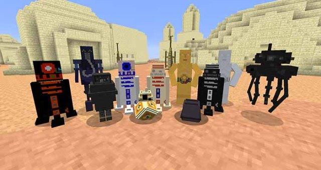 Star Wars Mod for Minecraft