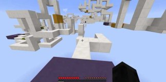 The Line Runner Map for Minecraft 1.9