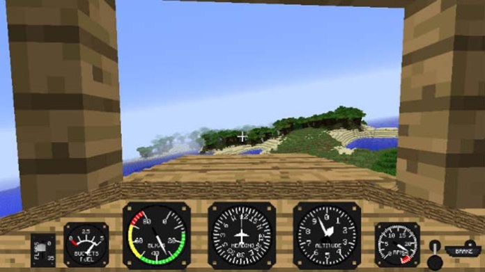 Flight Simulator Mod for Minecraft 1.9/1.8.9/1.7.10 | MinecraftSide