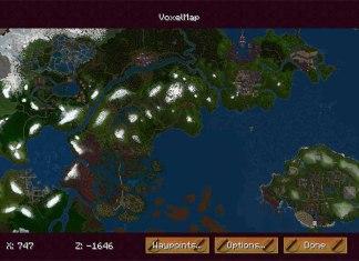VoxelMap Mod for Minecraft 1.9/1.8/1.7.10   MinecraftSide