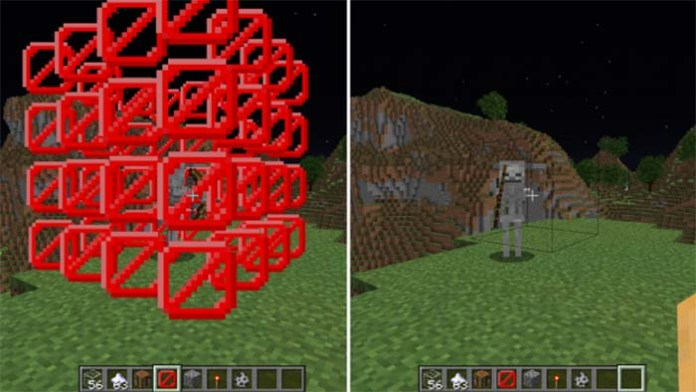 Craftable Barrier Block Mod for Minecraft