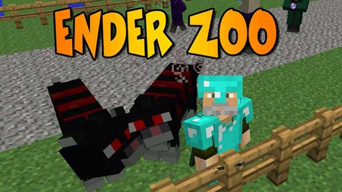 Ender Zoo Mod for Minecraft 1.9/1.8.9/1.7.10 | MinecraftSide