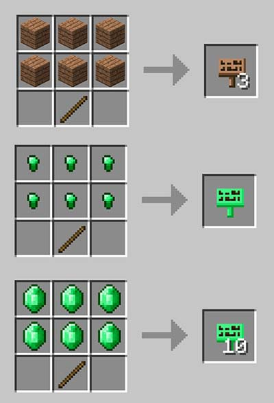 MoarSigns Mod for Minecraft