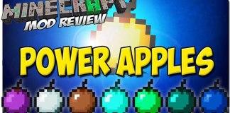 Power Apples Mod for Minecraft 1.9/1.8/1.7.10 | MinecraftSide