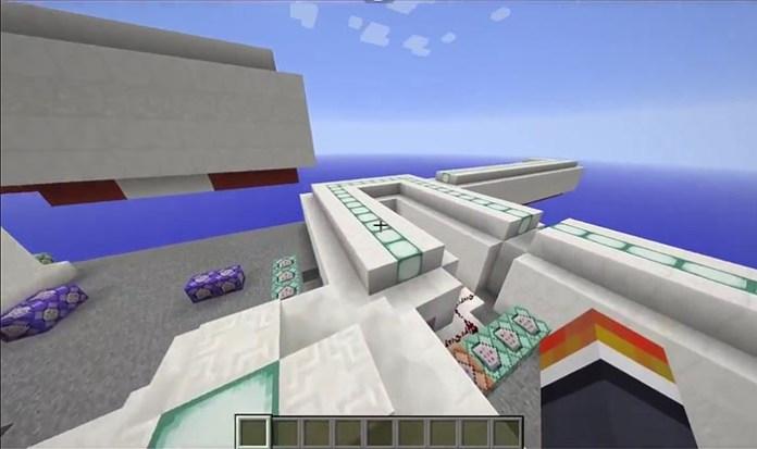 Sprint Lab Map for Minecraft