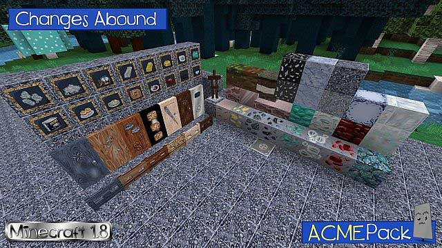 ACME Resource Pack for Minecraft