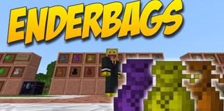EnderBags Mod for Minecraft 1.10.2/1.9.4