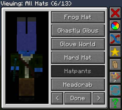 Hats Mod for Minecraft 1.7.10