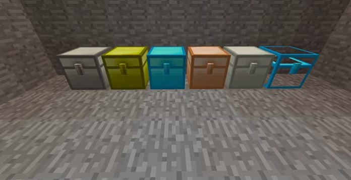 Iron Chests Mod for Minecraft 1.10.2/1.9.4