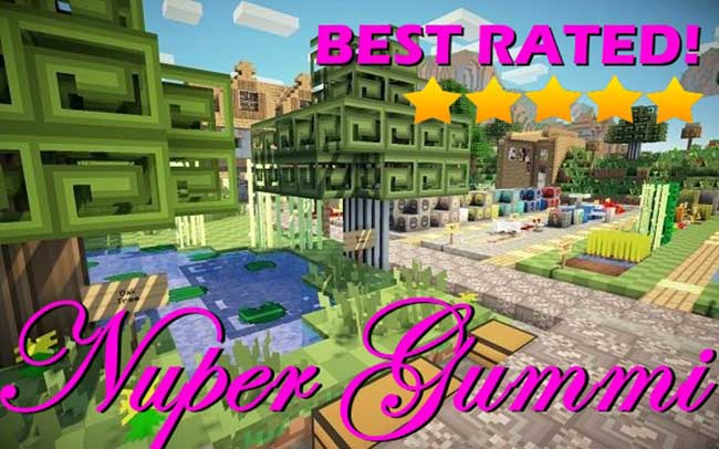 Nuper Gummi Resource Pack for Minecraft 1.10.2