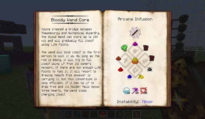 Forbidden Magic Mod for Minecraft