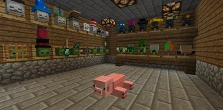 Hat Stand Mod for Minecraft