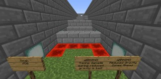 Obstacle Mayhem Map for Minecraft