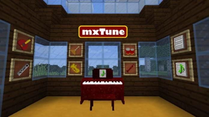 mxTune Mod for Minecraft