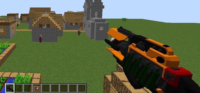 Extraordinary Weapons Mod