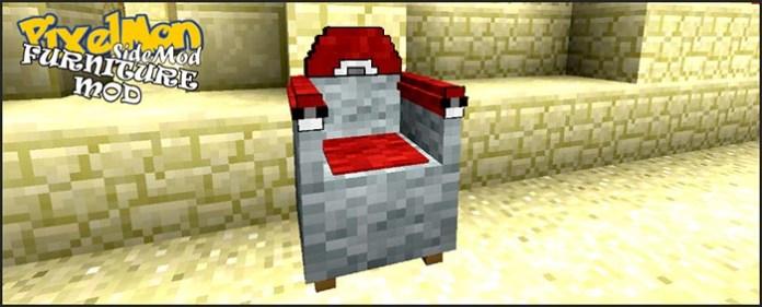 Pixelmon Furniture Mod for Minecraft