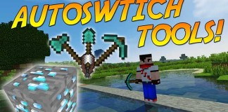 SimpleAutoSwitch Mod for Minecraft