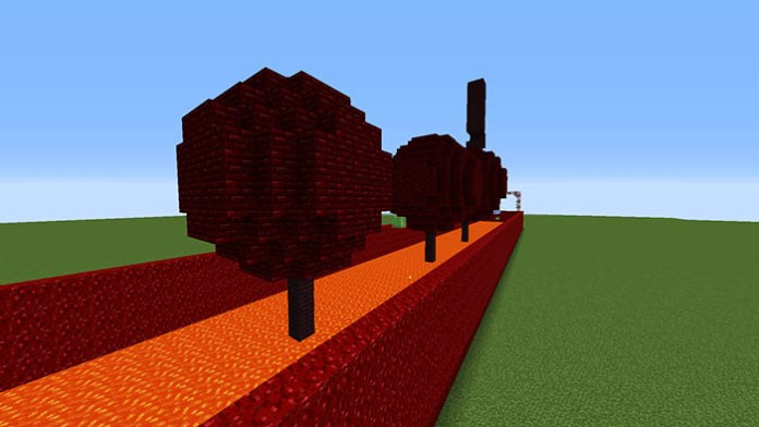 The Lava Wipeout Map for Minecraft