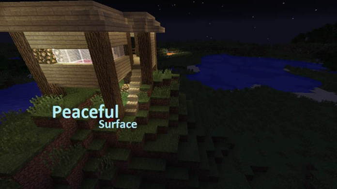 PeacefulSurface Mod for Minecraft