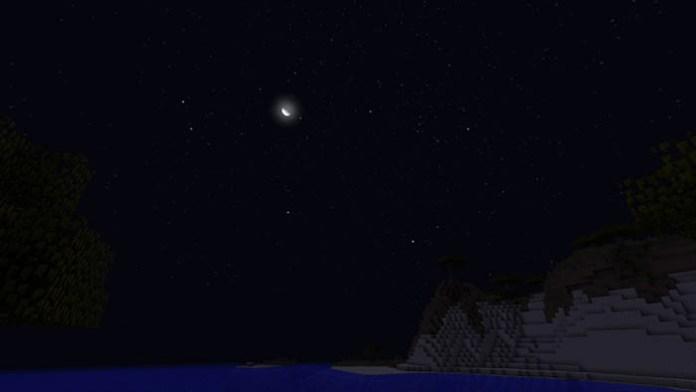 Stellar Sky Mod for Minecraft