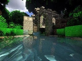 The Forgotten Book Map for Minecraft