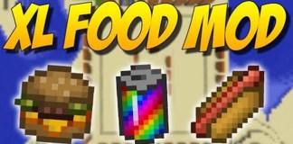 XL Food Mod for Minecraft