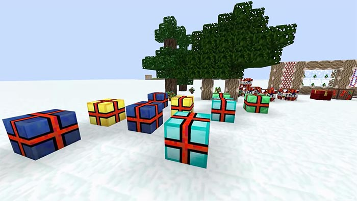 Christmas Resource Pack For Minecraft 1 13 2 1 12 2 Minecraftside