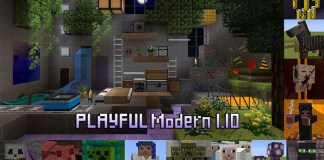 Playful Modern Resource Pack for Minecraft