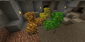 Ore Shrubs Mod for Minecraft