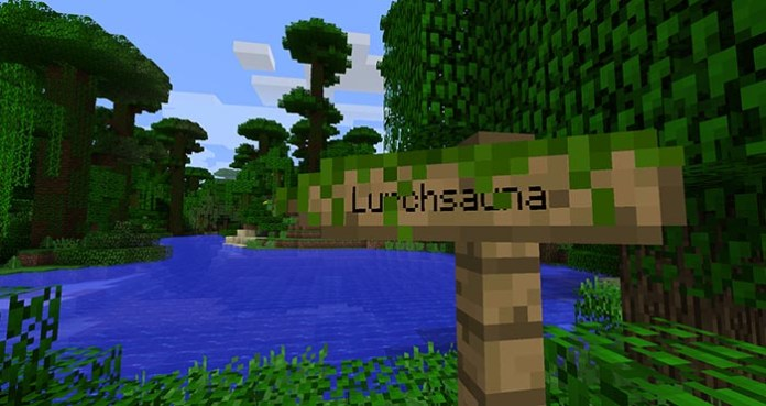 Signpost Mod for Minecraft