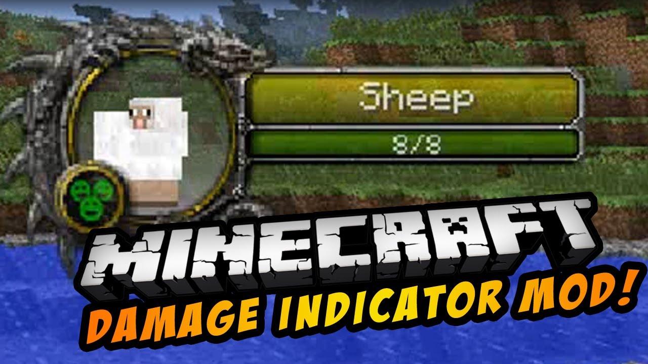 Damage Indicators Mod For Minecraft MinecraftSix - Minecraft server erstellen mit mods 1 7 10
