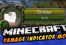 Damage Indicators Mod minecraft