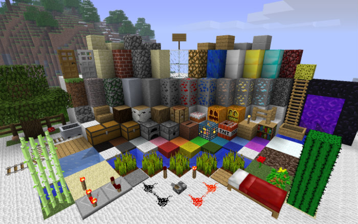 Faithful 32x32 Resource Pack for Minecraft 1 13 1/1 12 2 | MinecraftSix
