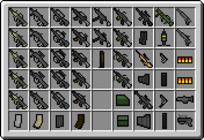 minecraft guns mod download 1.8