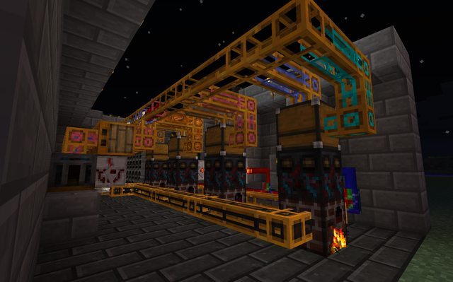Power Mod Red Sorting Machine Minecraft