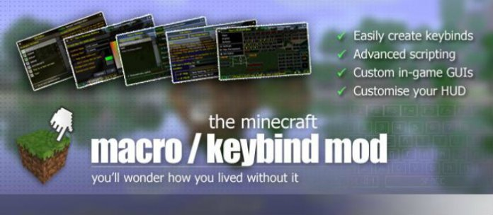 keybind-for-minecraft