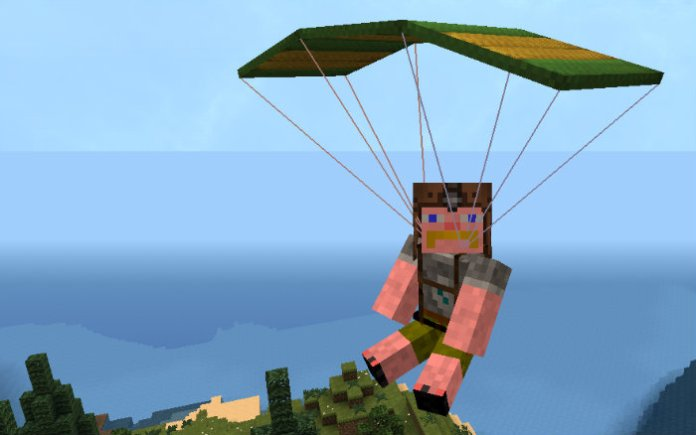 parachute-in-minecraft