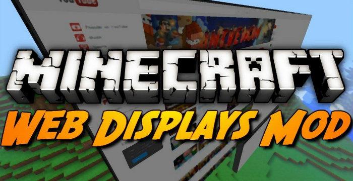 Web Displays Mod for Minecraft 1 7 10   MinecraftSix