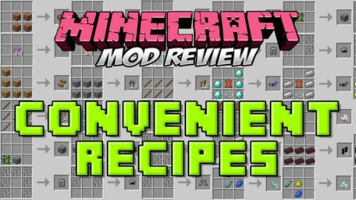 convenient-recipes-mod