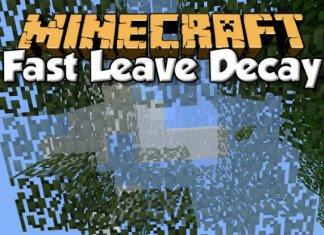 fast leave decay mod minecraft