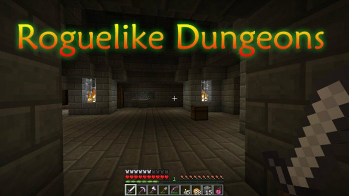 Roguelike Dungeons Mod for Minecraft 1 12 2/1 11 2