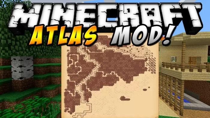 Antique Atlas Mod for Minecraft 1.8/1.7.10 | MinecraftSix
