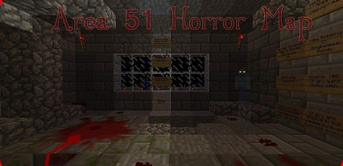 Area Horror Map For Minecraft MinecraftSix - Horror maps fur minecraft
