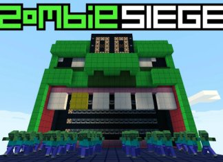 zombie siege map minecraft